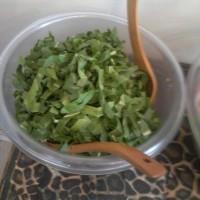 ensalada de radicheta con ajo