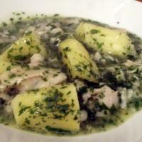 merluza a la salsa verde
