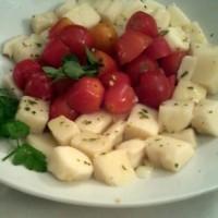 palmitos con cherrys