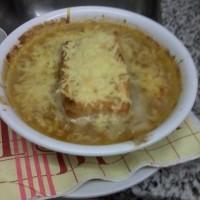soupe d'oignons