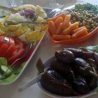 surtido de verduras