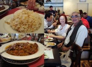 bamias con arroz en pasha tel aviv